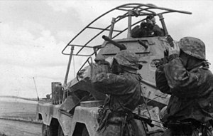 5th SS Panzer Division Wiking - Troops of the division in the Soviet Union in 1941.