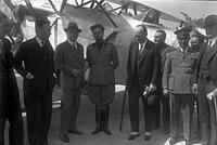 Bundesarchiv Bild 102-00450, Graf Aldrovandi und Italo Balbo