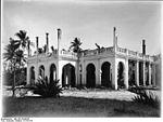 Ruines de la résidence du Gouverneur de l Afrique orientale allemande