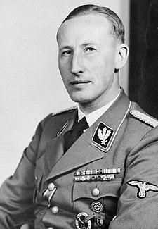 Reinhard Heydrich - zastupující říšský protektor