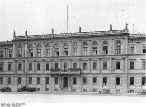 Reich Ministry of Transport - RVM headquarters in Berlin, 1937