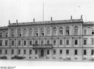 Reich Ministry of Transport - RVM headquarters in Berlin, 1937