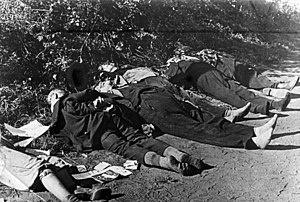 Bloody Sunday (1939) - Corpses of ethnic Germans at Bromberg