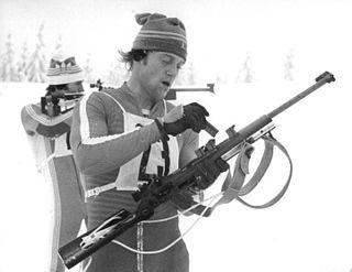 Klaus Siebert East German biathlete