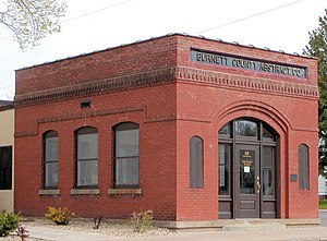National Register of Historic Places listings in Burnett County, Wisconsin - Image: Burnett County Abstract Company