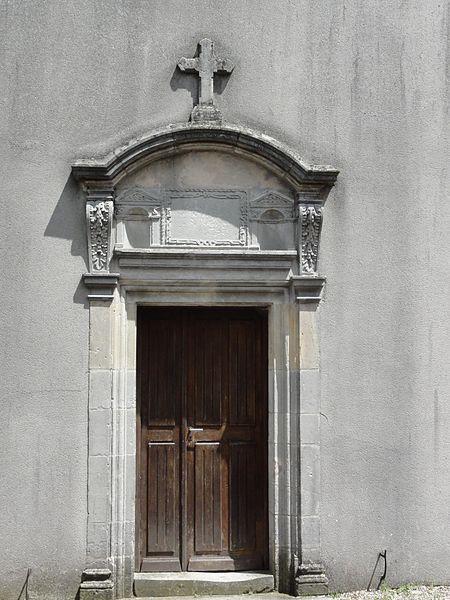 Burthecourt-aux-Chênes (M-et-M) église, porte