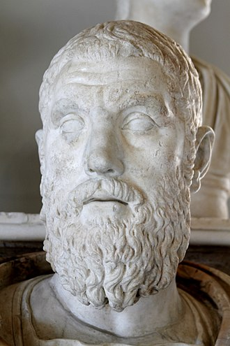 Macrinus - Bust of Macrinus, from the Capitoline Museum