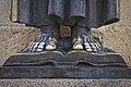Cáceres. Feets. Statue of San Pedro de Alcántara. Santa María square. Extremadura. Spain (4426252479).jpg
