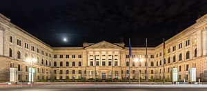 Prussian House of Lords - View by night