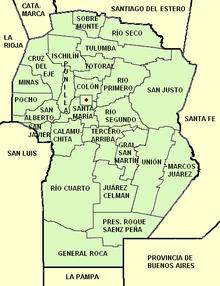 Provincia di Córdoba (Argentina)