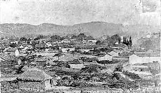 1875 Cúcuta earthquake - Cúcuta at 1800