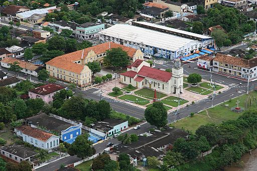 Parintins, ciudad ribereña del amazonas