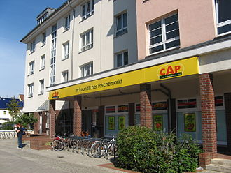 CAP Markets - The CAP Market in Köpenick, Berlin, Germany