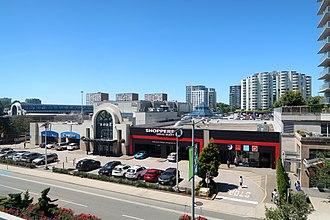 Richmond–Brighouse station - Richmond Centre