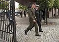 CJCS and Admiral Haakon Bruun-Hanssen, Norwegian Chief of Defence inspect Norwegian Honor Guard (36482619034).jpg