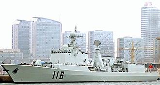 Type 051C destroyer - Image: CNS Shijiazhuang (DDG 116)