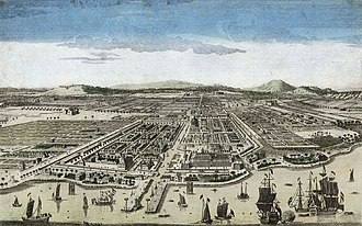 Batavia, Dutch East Indies - Batavia, circa 1780
