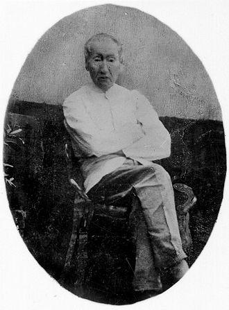 Herman Neubronner van der Tuuk - Image: COLLECTIE TROPENMUSEUM Portret van Dr. H.N. van der Tuuk T Mnr 10018828