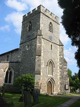 Chalfont St Giles - Image: C of E Parish Church Chalfont St Giles geograph.org.uk 38540