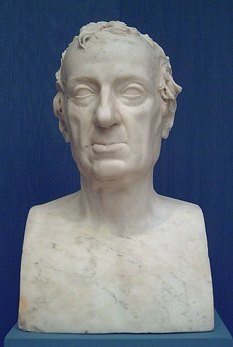 Vicente López Portaña - Bust of López, by J. Duart (R.A.B.A.S.F., Madrid).