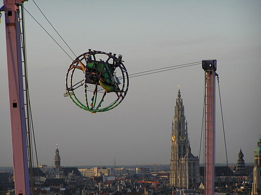 Cage flying Antwerp