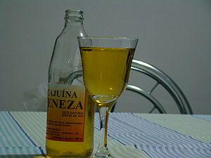 Cajuína - Cajuína from Teresina, Piauí, Brazil