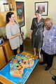 Cake maker, Jacqui Levi with Her Excellency Ann Harrap and Archbishop Tutu (10678720643).jpg