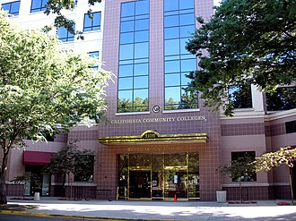 Student Senate for California Community Colleges - California Community Colleges building, 1102 Q Street, Sacramento, California.