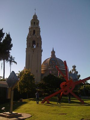 English: The California Bell Tower, part of th...