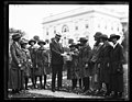 Calvin Coolidge and Girl Scouts at White House, Washington, D.C. LCCN2016892723.jpg