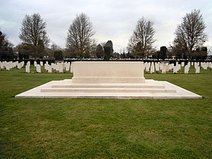 Cambridge City Cemetery - The Stone of Remembrance