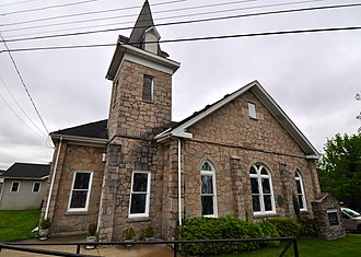 National Register of Historic Places listings in Giles County, Tennessee - Image: Campbell Chapel African Methodist Episcopal Church (Pulaski, Tennessee)