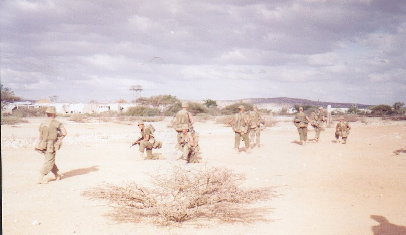 Canadian in Somalia