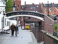 Canal at Gas Street Basin, Birmingham - geograph.org.uk - 964984.jpg