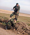 Capt. Mohammad Ali Yazdani and 1st Lt. Mohammad Farrazad inspect an area of concern (4329489253).jpg