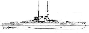 Francesco Caracciolo-class battleship - Francesco Caracciolo class