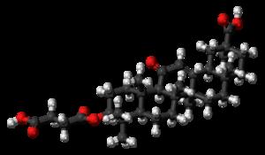Carbenoxolone - Image: Carbenoxolone 3D ball