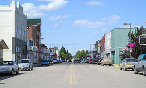 Carberry, Manitoba - Main Street in Carberry