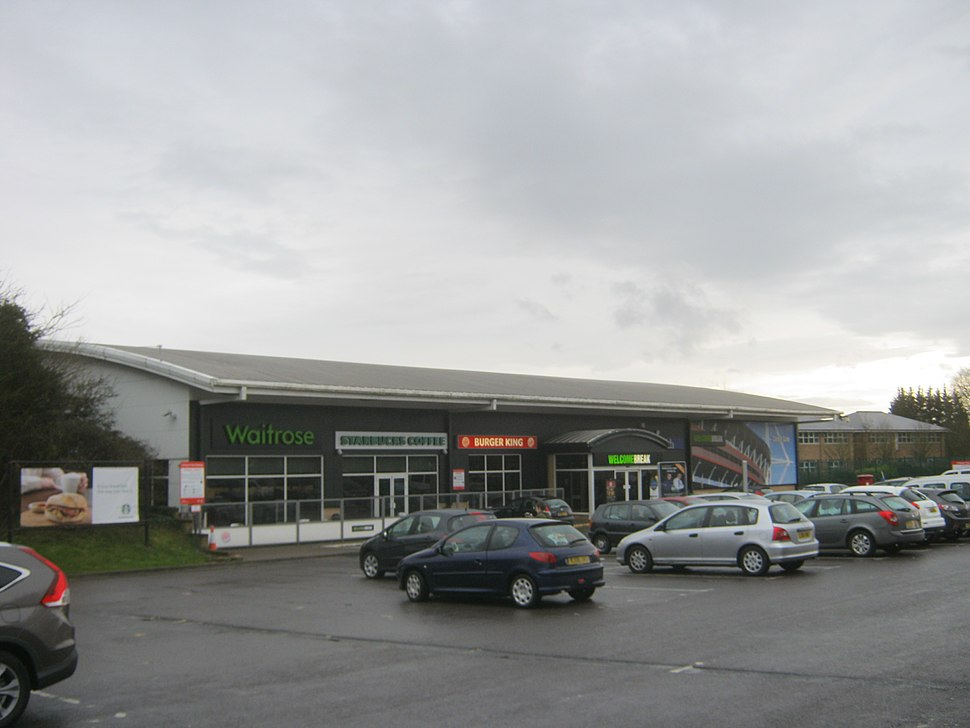 Cardiff Gate services-geograph-3432460-by-peter-robinson