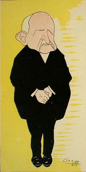 Ramón Barros Luco - Image: Caricatura Ramon Barros Luco
