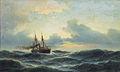 Carl Bille - Dampfsegler auf hoher See.jpg
