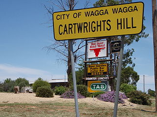 Cartwrights Hill, New South Wales Suburb of Wagga Wagga, New South Wales, Australia