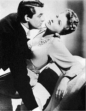 Suspicion (1941 film) - Cary Grant and Joan Fontaine