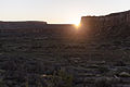 Casa Rinconada - Equinox Sunrise at the Cliff Notch (8023734397).jpg