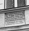 Casement plaque in Riederau, Bavaria, Germany.jpg