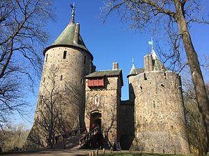 Castell Coch - Image: Castell Coch exterior