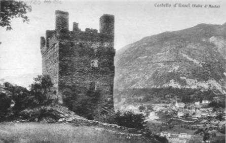 File:Castello d'Ussel, fronte a levante, fig 125 ter, anonimo, nigra PD italy forse.tiff