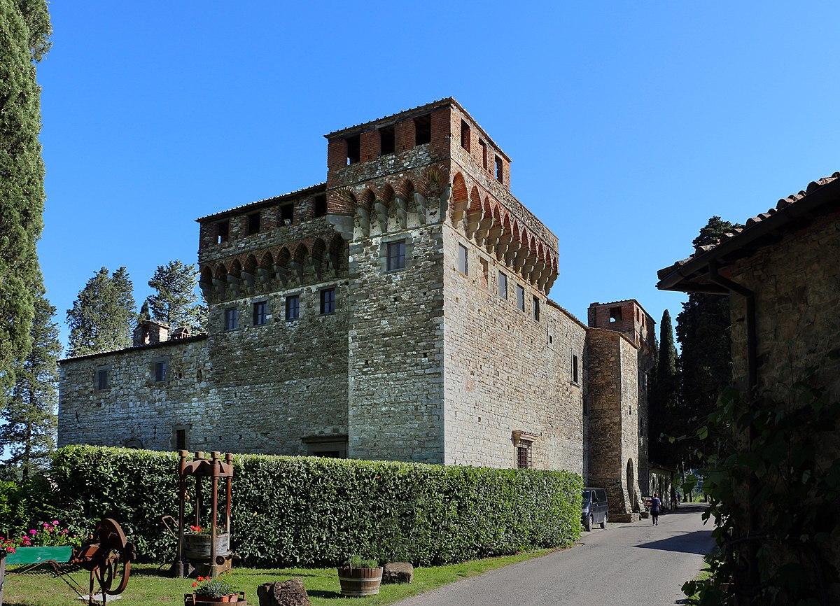 Castello Del Trebbio Tour