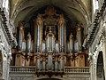 Cathédrale Notre-Dame-de-l'Annonciation - intérieur - orgue (Nancy).jpg