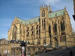 Cathédrale Saint-Etienne de Metz.facade ouest.jpg